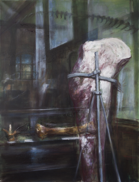 Display (Bones)  Oil on canvas 116 x 89 cm 2013