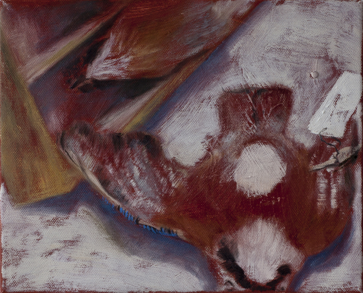 Display (Taxidermy) VII   Tempera and oil on canvas 22x27 cm  2013