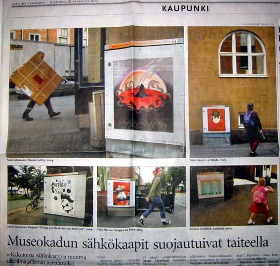 Helsingin Sanomat 18.8.2005