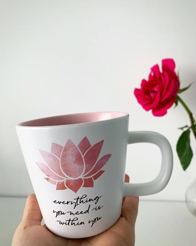 ✌️when your morning cuppa says it all!