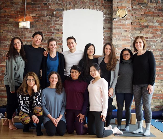 Graduation mug shots can never quite capture all the dedication, magic and transformation that was created within the studio walls these past 5 months in training. So much love to all of you for completing the fall 2018 teacher training program @iamyogatoronto  My cup is so full being a part of this journey with you 🥰