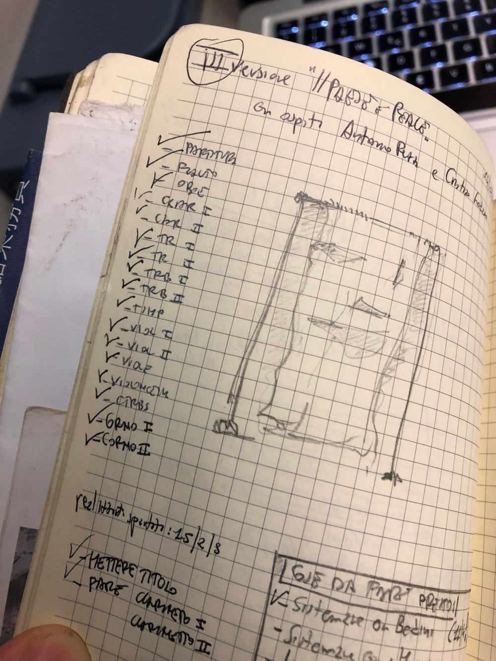 """appunti della versione con ospiti de """"Il paese è reale"""" - 2009"""