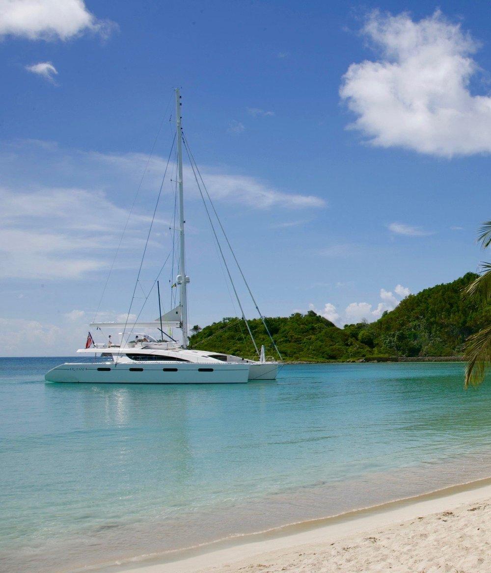 Catamaran Virgin Islands Vacation: All Inclusive Sailing Vacations In