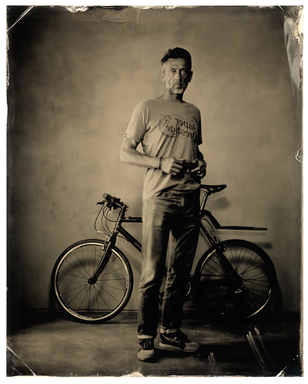 Tintype portrait by Tiff Hunter