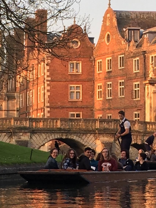 Evening Punting on the river!