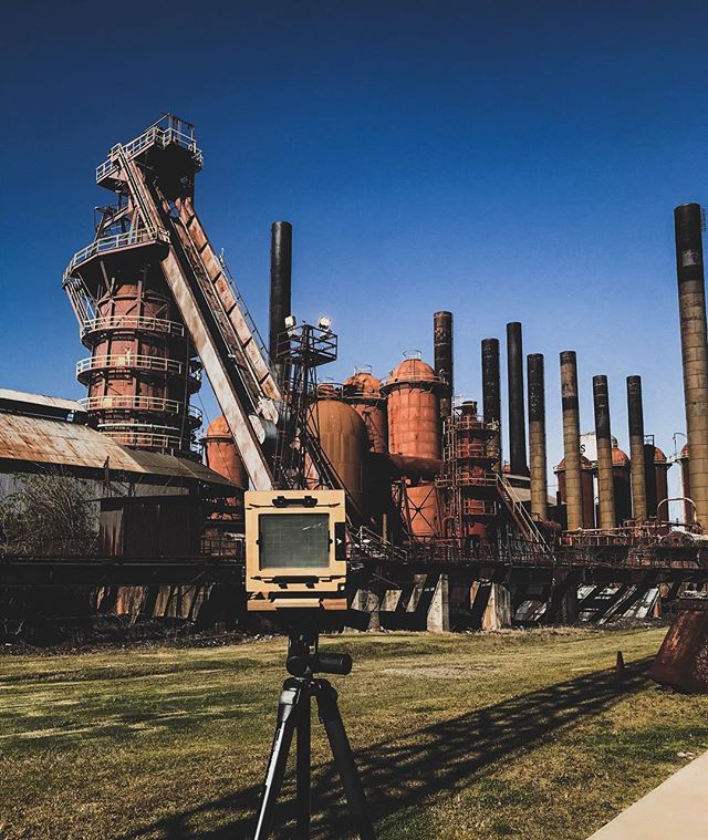 Last weekend was spent in some very cool places with some very cool people. Thanks for showing me around Bham Brittanny and Todd. I can't wait to see how this sheet of portra from the furnaces came out. . . . . #filmisnotdead #rei1440project #exploretocreate #vscocam #largeformat #4x5 #filmcamera #birmingham #bham #slossfurnace #intrepidcamera #roam #travelwellshootoften #ishootfilm #theanalogueproject #longlivefilm