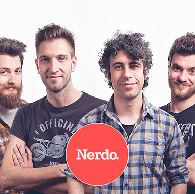 Nerdo - Creative Studio   Meet Torino's finest quattrick: Alessandro Durando, Lorenzo Levrero, Diego Pizziconi and Daniele Gavatorta. We seriously suspect them to find fun in working for  HBO, MTV, Red Bull  and others.
