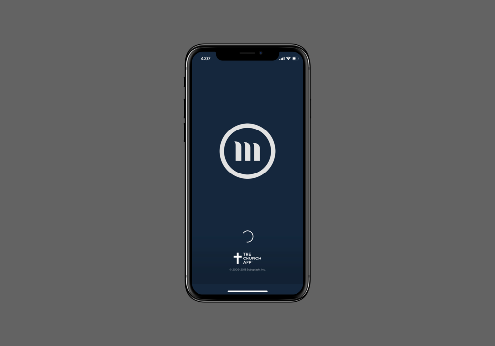 Download the App - Download the app to listen to sermon audio, see current events, and connect in other ways!