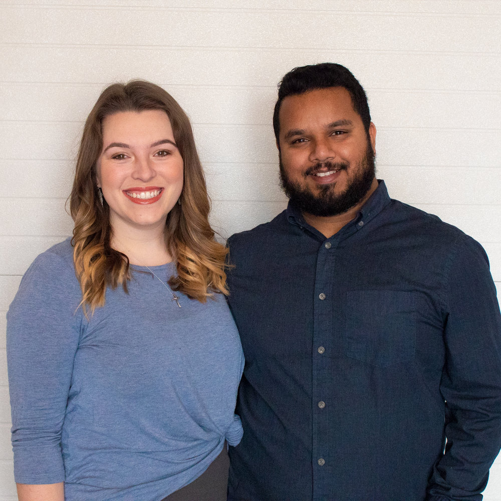 Nikhil and Abby Jelaji   Directors of Hospitality, Missio Dei Central