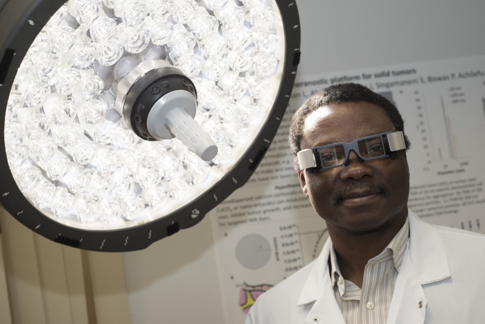 Samuel Achilefu, PhD, is the Michel M. Ter-Pogossian Professor of Radiology at Washington University in St. Louis.