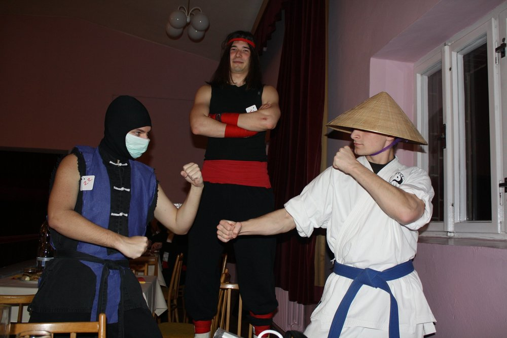 Sub-zero, Liu Kang and Raiden