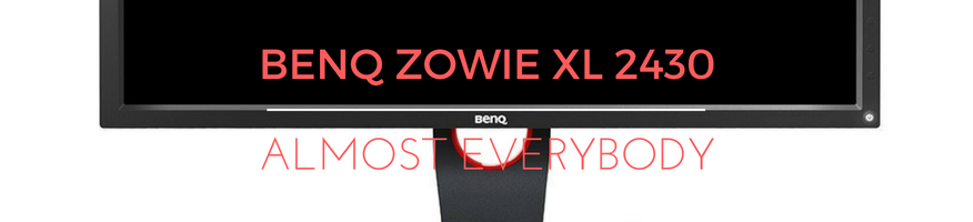 BenQ Zowie Best Gaming Monitor