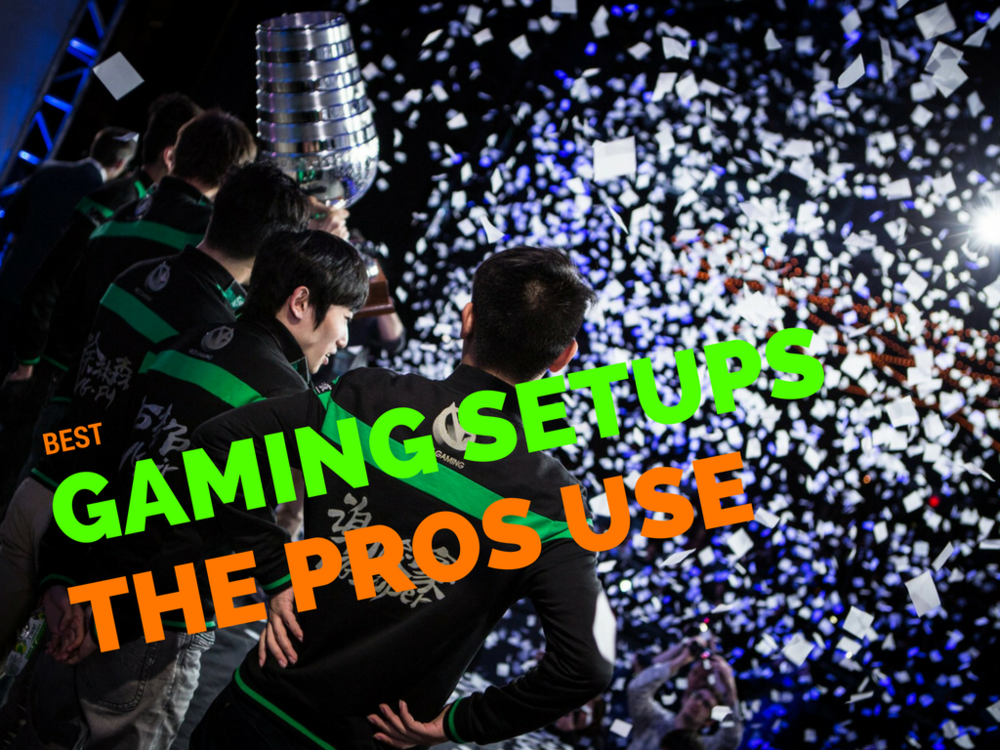 gaming monitors pro gamers use