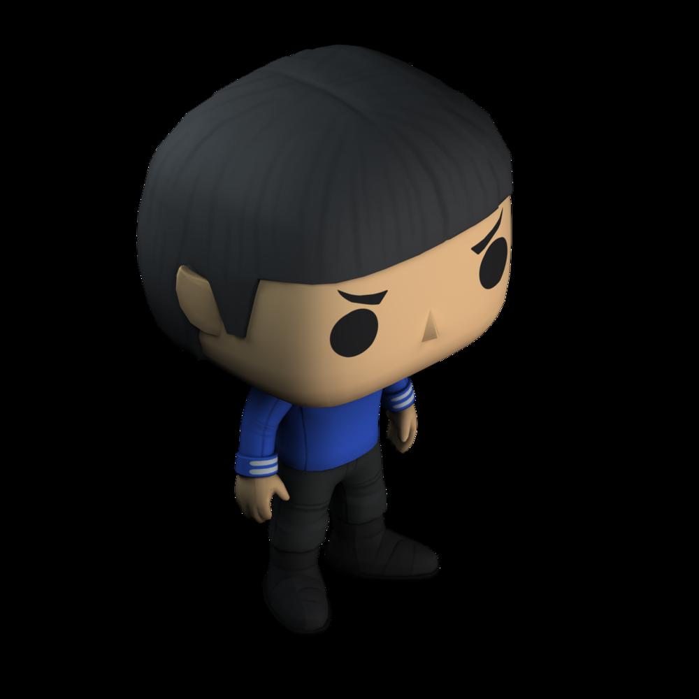 Spock 3-D