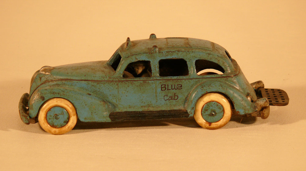 Vintage toy cast iron car