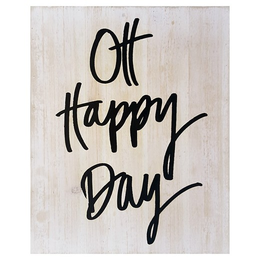 oh happy day wood flushmount - target