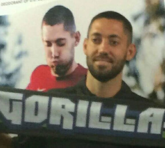 Happy Birthday Clint Dempsey! Stay angry! stay great! #GoApe