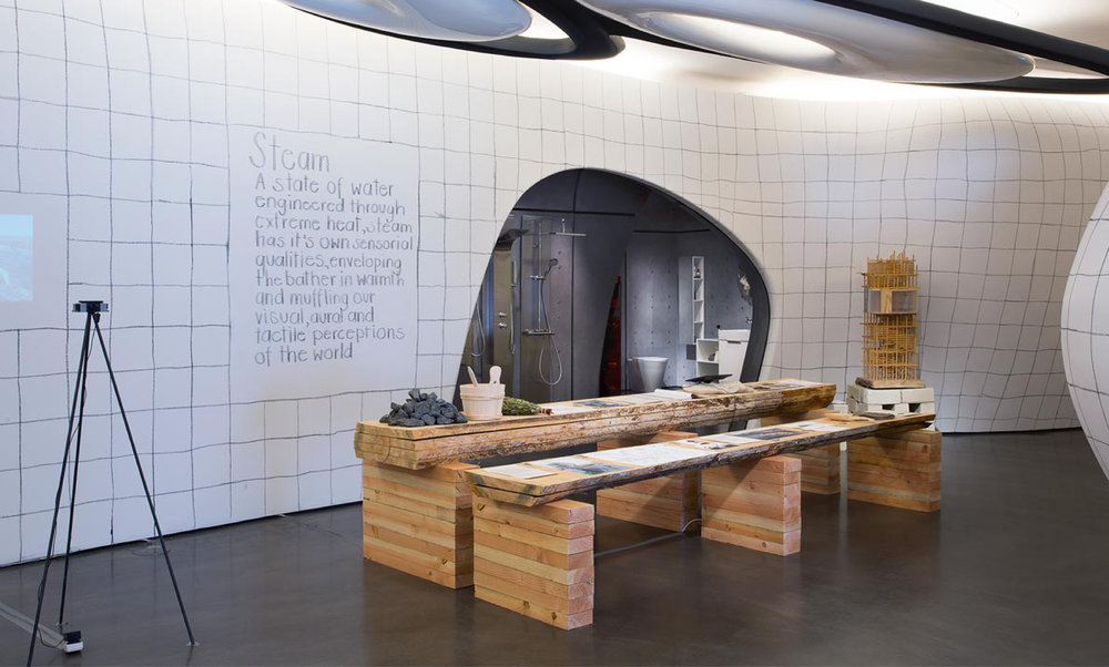 Soak, Steam, Dream: Reinventing Bathing Culture, Roca London Gallery
