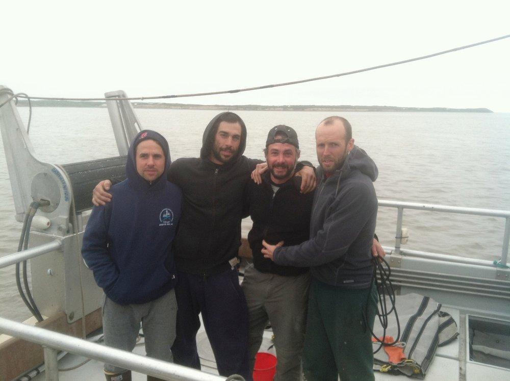 The Crew: Todd, Marc, Adam, Josh