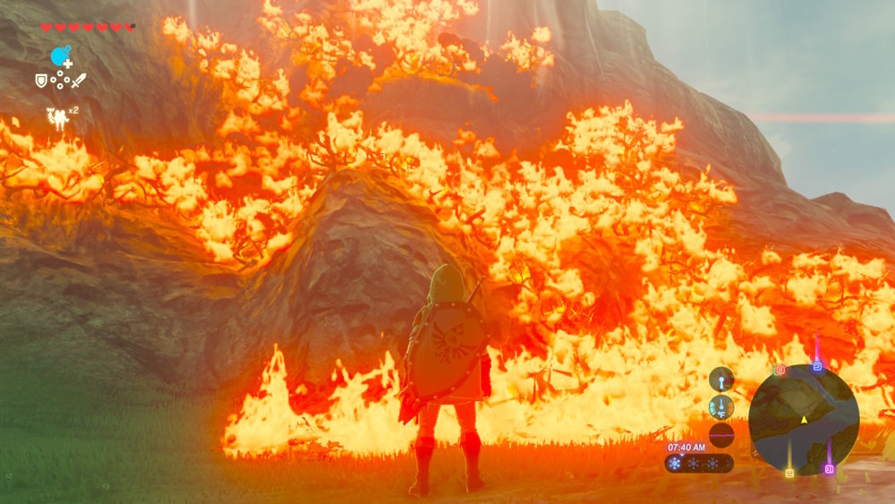 If you  do  get bored, there's always fire to play with. Fire is nature's Nintendo!