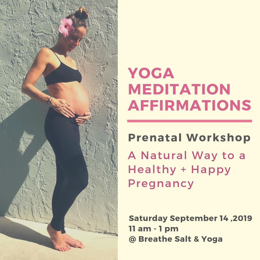 Yoga Events in Jupiter, FL, by Breathe Salt & Yoga — Breathe