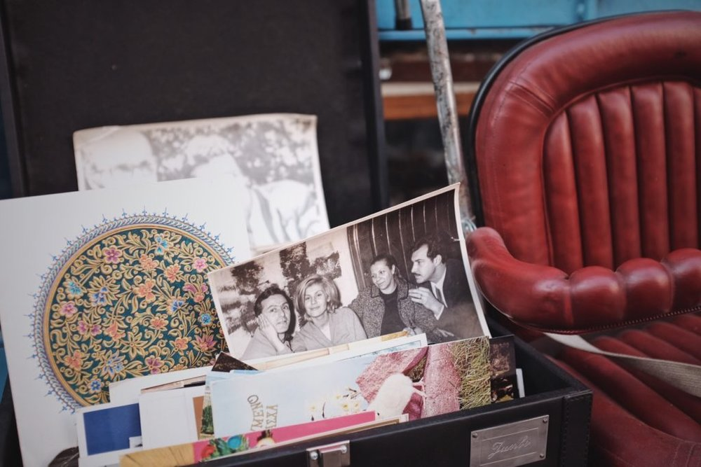 Collection of old photographs and postcards. Photo by:  Sveta Nekras ova