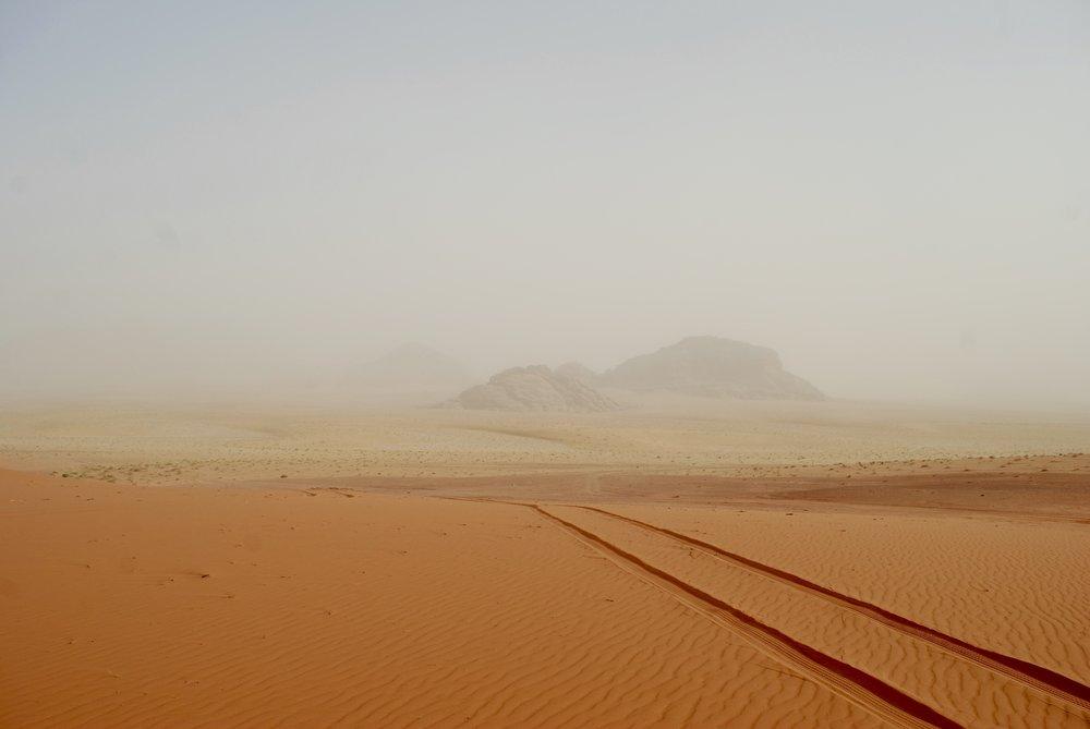 Vista in Wadi Rum