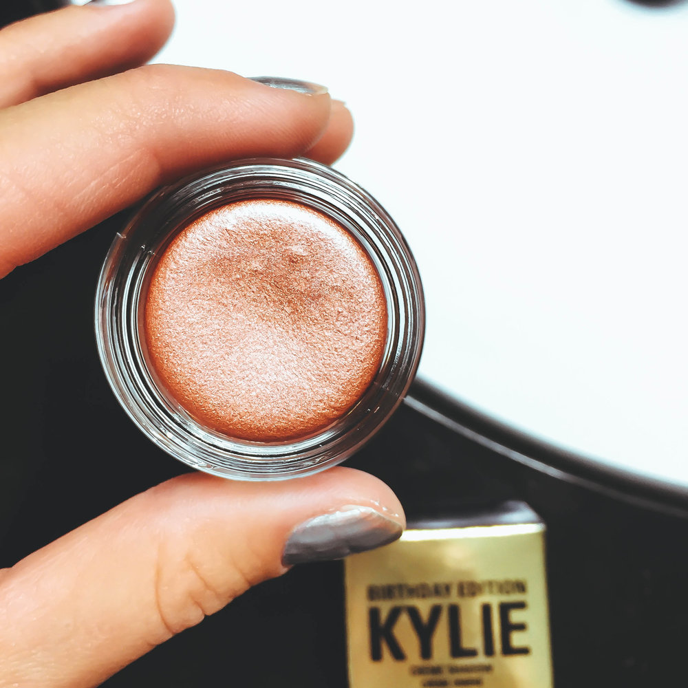 """Kylie Cosmetics Creme Shadow in """"Copper"""""""
