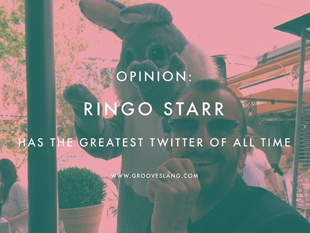 Opinion: Ringo Starr has the greatest Twitter of all time. #Ontheblog today, we discuss. Link in bio.