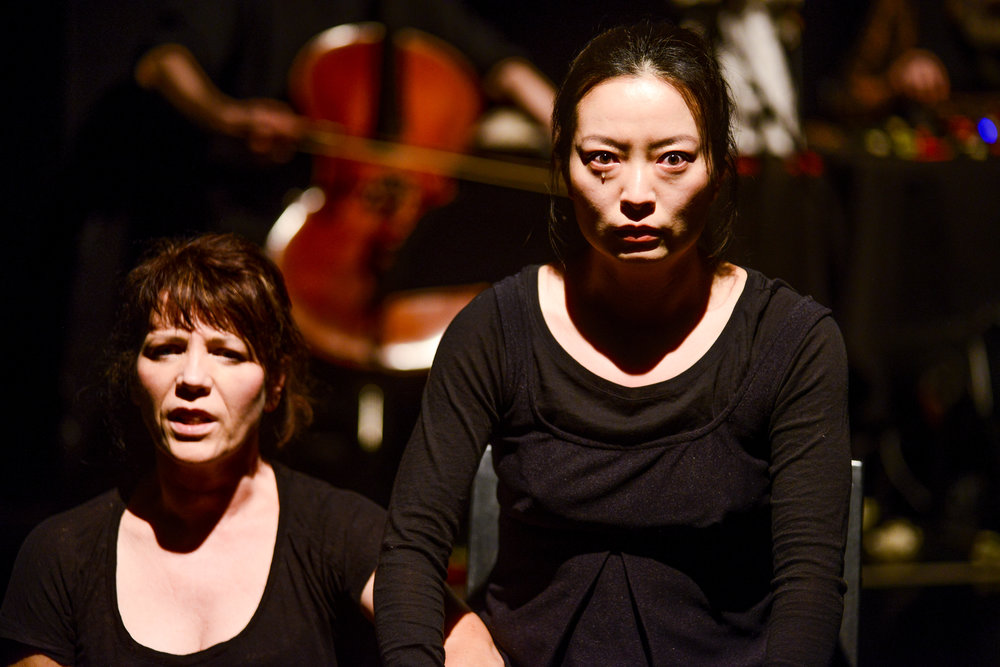 Regina Crowley and Jeungsook Yoo: 'I can not...'