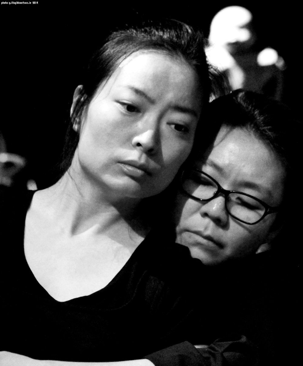 "Jeungsook Yoo and Sunhee Kim--the 'Korean sister-maids' in 'playing ""the maids""'"