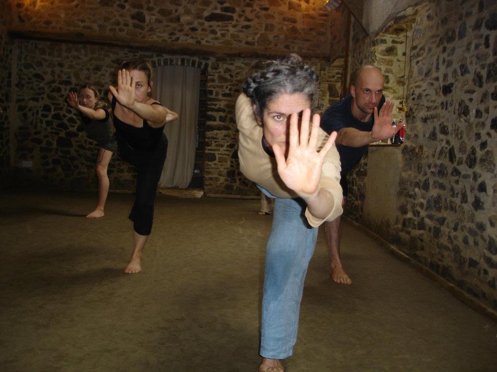 Summer Intensive (2005!): Heidi Love, Sol Garre-Rubio, Jo Shapland, Klaus Seewald