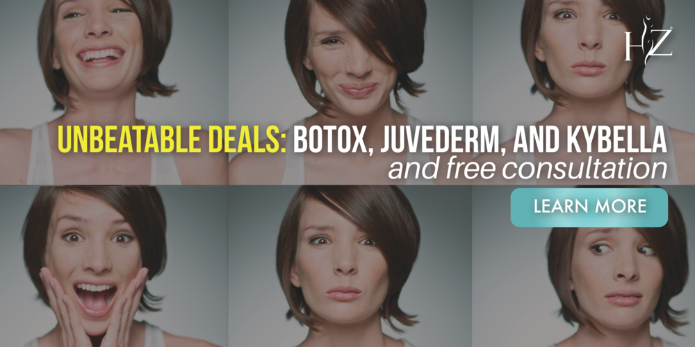 kybella special, juvederm special, and botox special