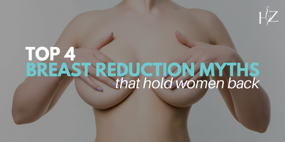 breast reduction myth, myths about breast reduction, breast reduction surgery, what is breast reduction