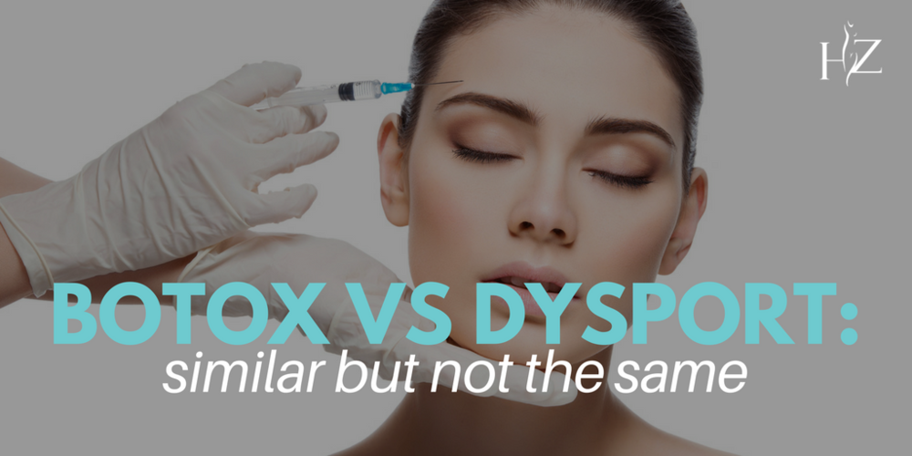 botox vs dysport, dysport vs botox, difference between dysport and botox
