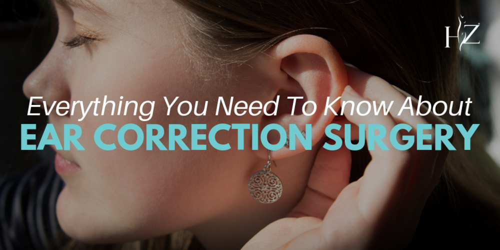 ear correction surgery, what does ear correction fix, how does ear surgery work, otoplasty, otoplasty orlando, ear correction orlando, plastic surgery in orlando, orlando plastic surgeon, HZ plastic surgery, recovering from ear correction surgery