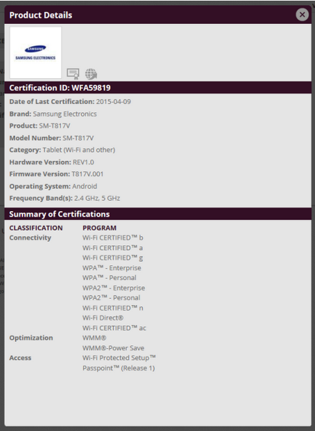 Samsung-Galaxy-Tab-S-2-9.7-receives-its-Wi-Fi-certification