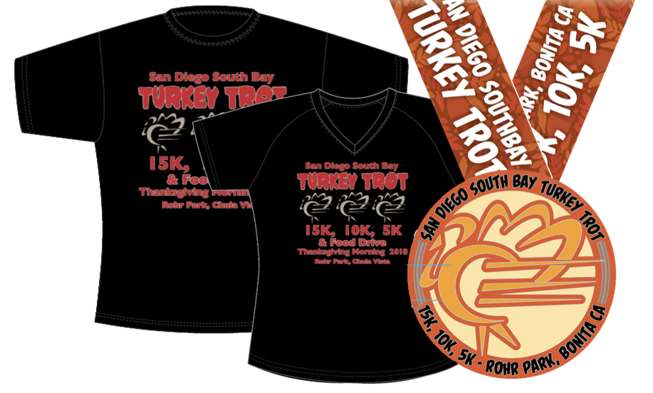 EVERY REGISTERED RUNNER RECEIVES A FINISHER'S SHIRT AND MEDAL
