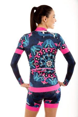 2202b209cf Navy Moroccan Cycling Jersey — Dixie Devil