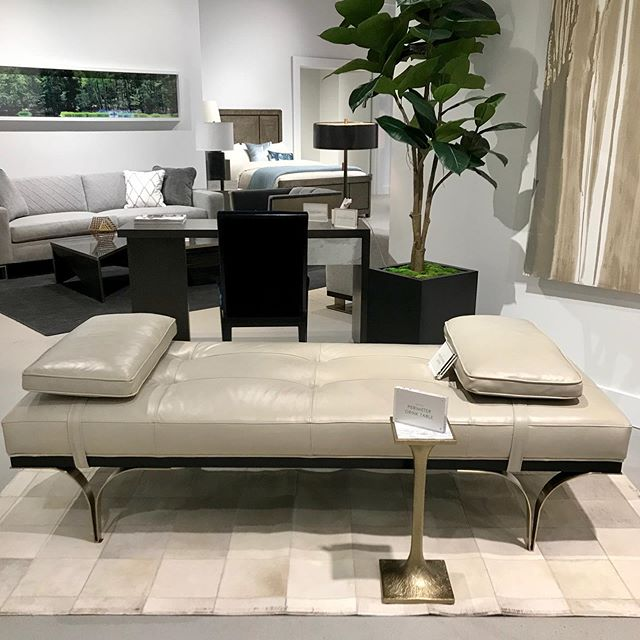 The new @caracolehome showroom did not disappoint. @thechaiselounge @highpointmarket #tclpstylespot #interiordesign #interiordesigner #interiordesignerlife