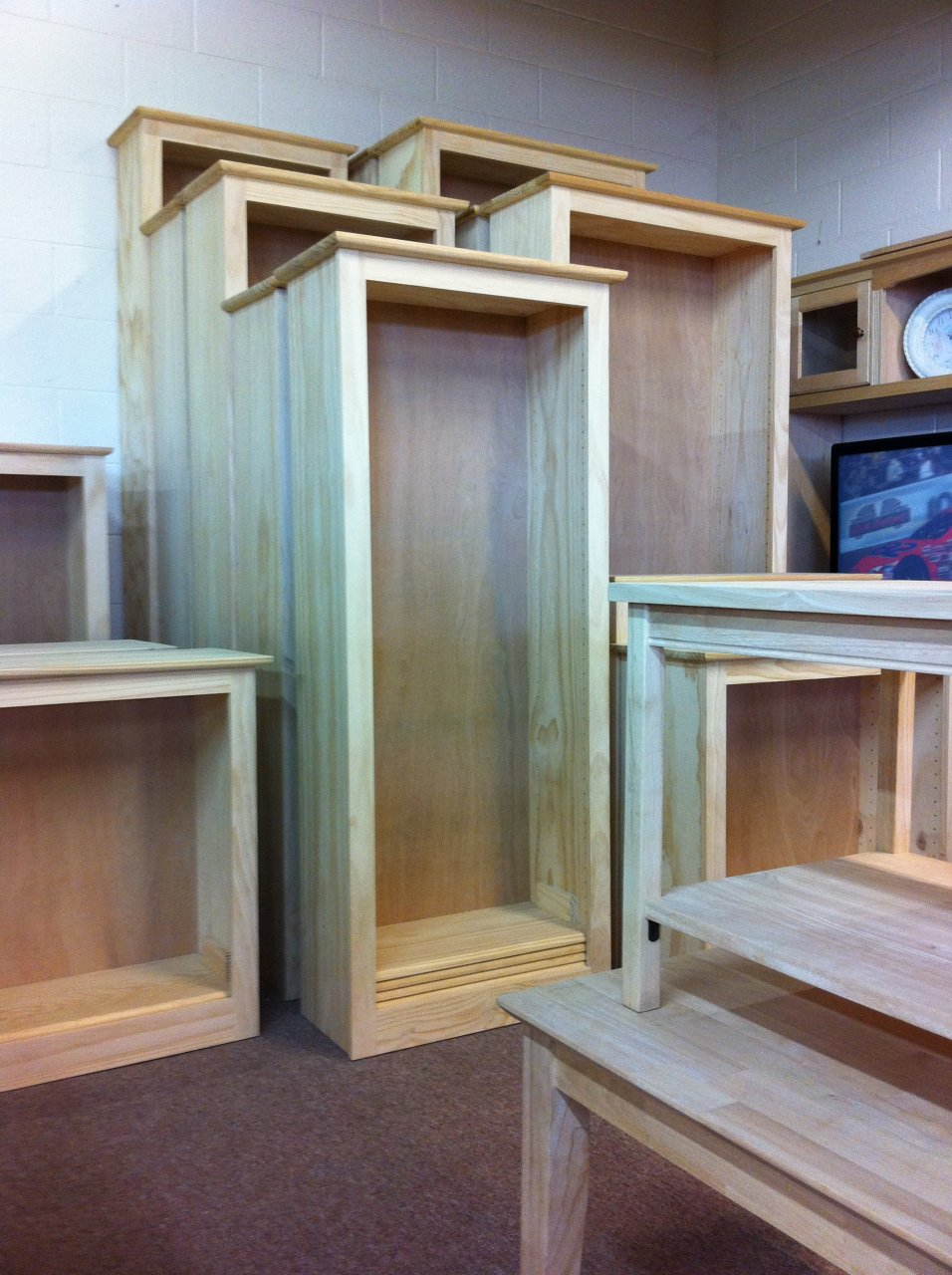 your best bet is an unfinished furniture store while the process isnu0027t entirely custom bookshelves u20ac amy