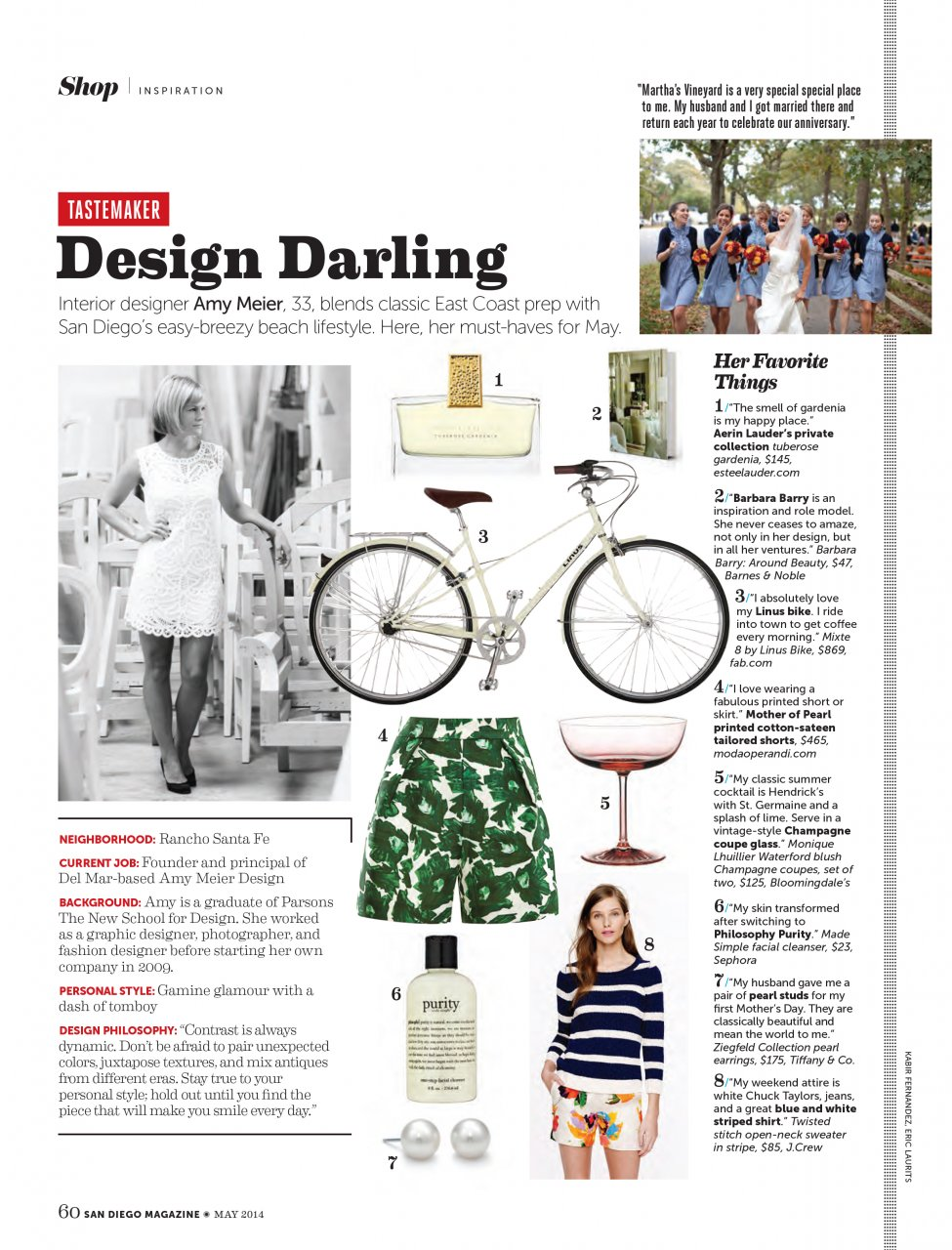 Thank You: San Diego Magazine — Amy Meier Design