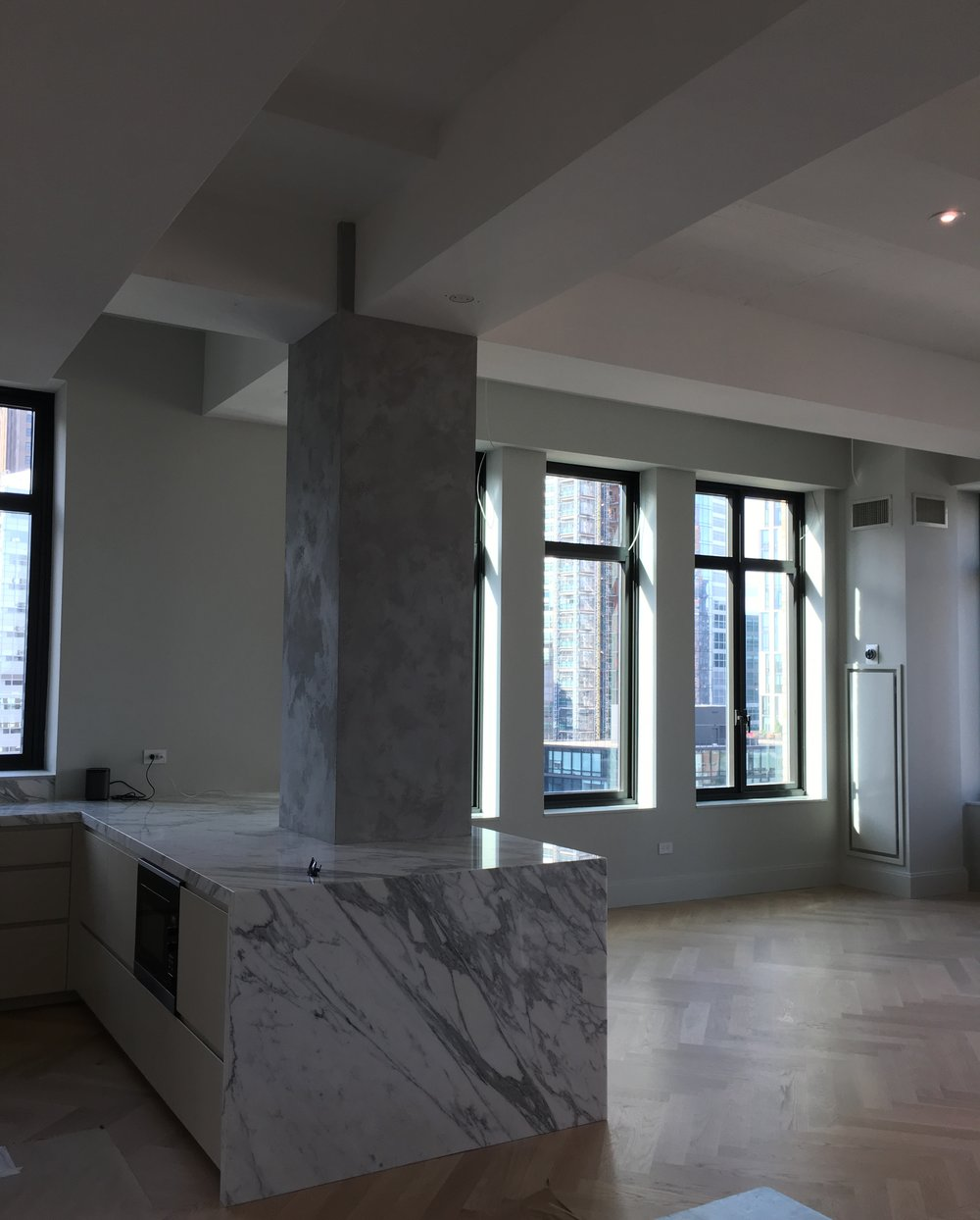 Amy Meier Design - Tribeca Loft Kitchen