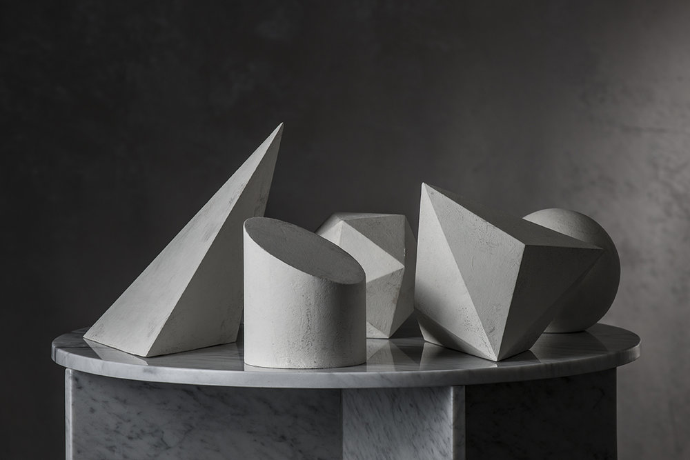 Set of Formes: No. 1 through 5  $1600