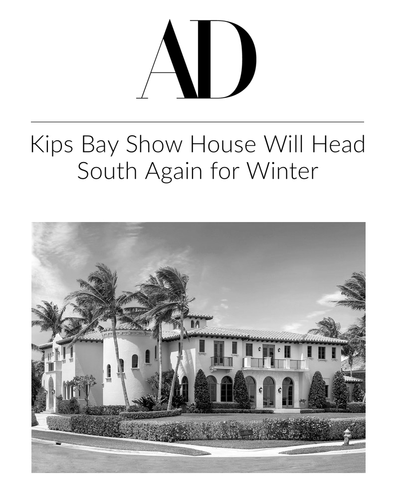 2019 Kips Bay Show House - Palm Beach