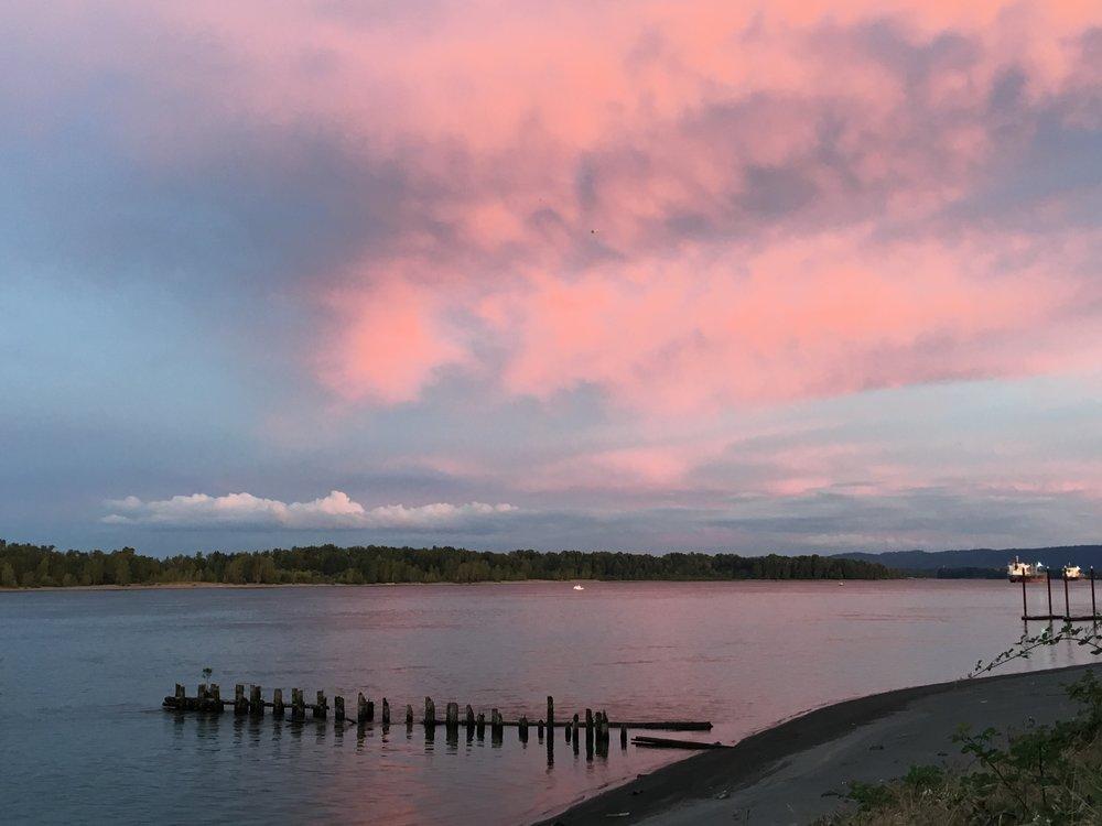 Sauvie Island Sunsets