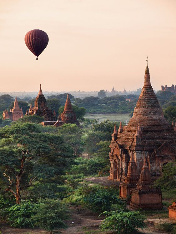 Bagan, Myanmar  Credit: TheSundayChapter.com