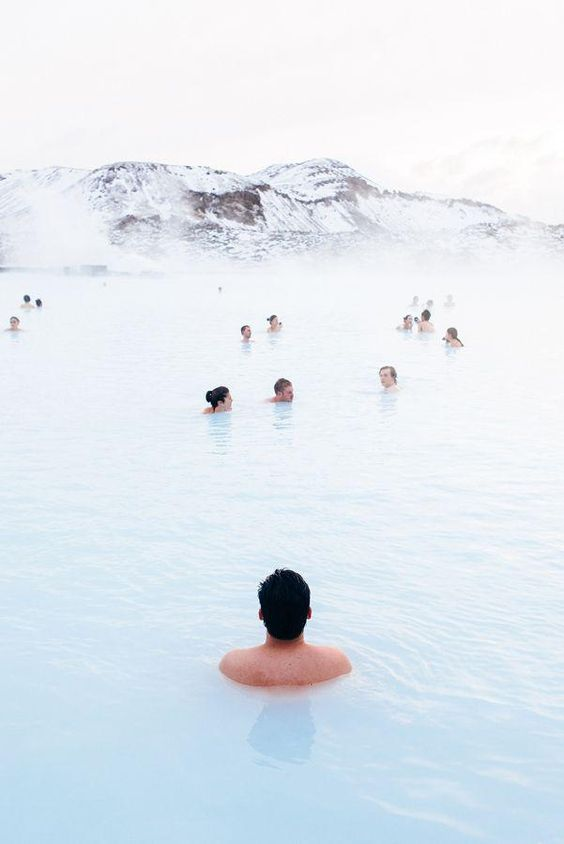Blue Lagoon, Iceland  Credit:  https://www.pinterest.com/pin/500744052301566159/