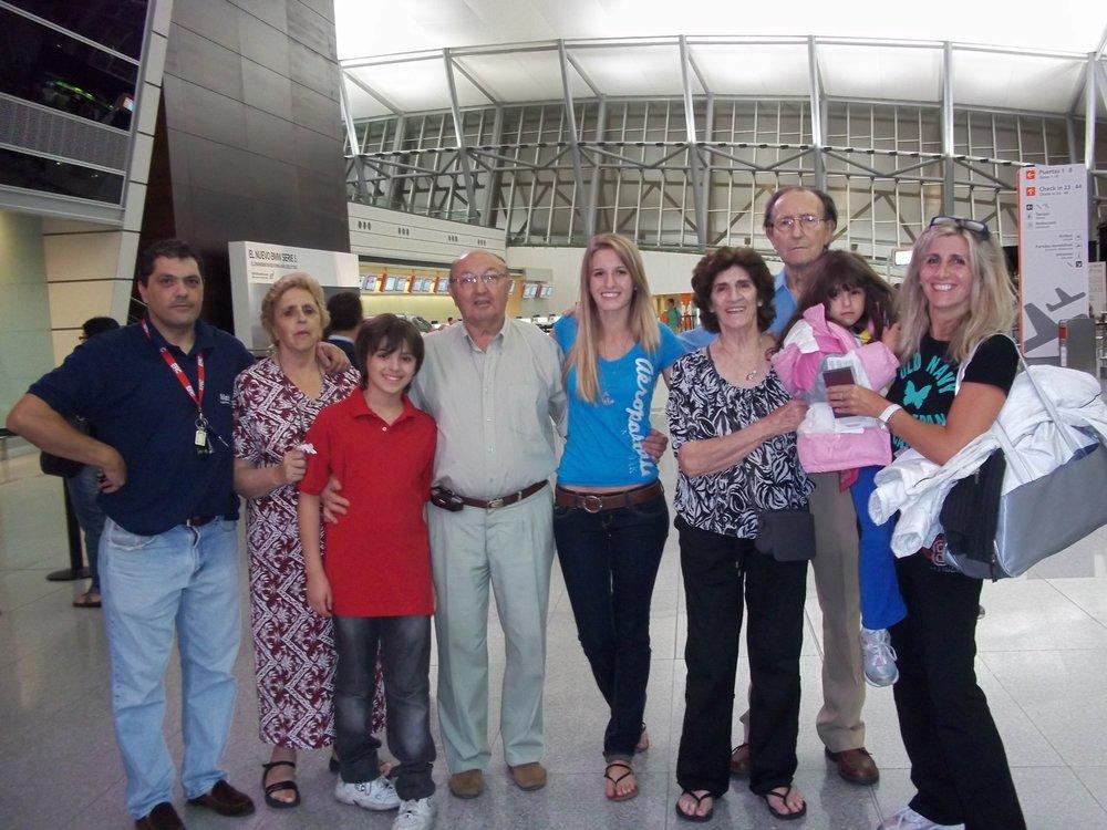 My family - circa 2010!