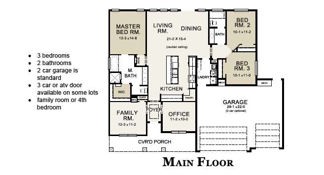 columbine floorplan